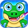 Candy Crazy Alligator Dentist - Free Sweet Kids Game