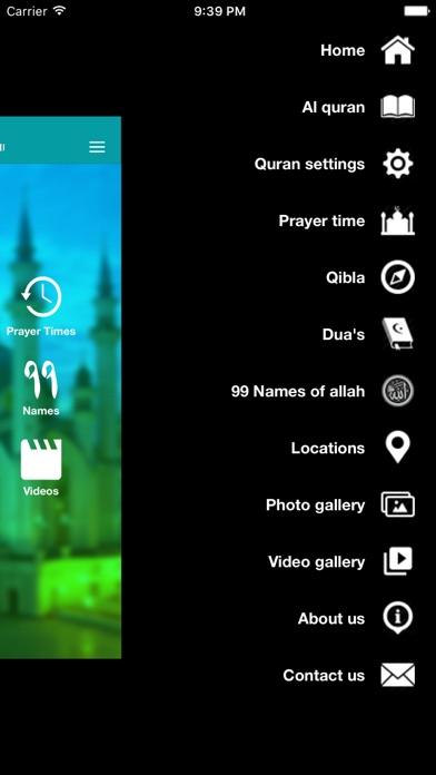 Quran majeed Free Edition- Muslim Prayer times- Qibla Directionsلقطة شاشة3
