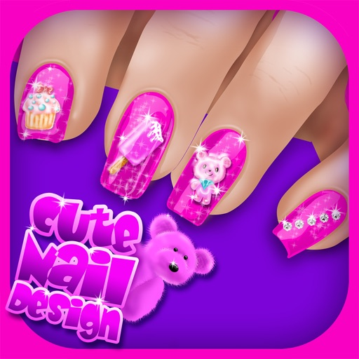 Cute Nail Art Designs Games For Girls Spa Beauty Salon With Fancy