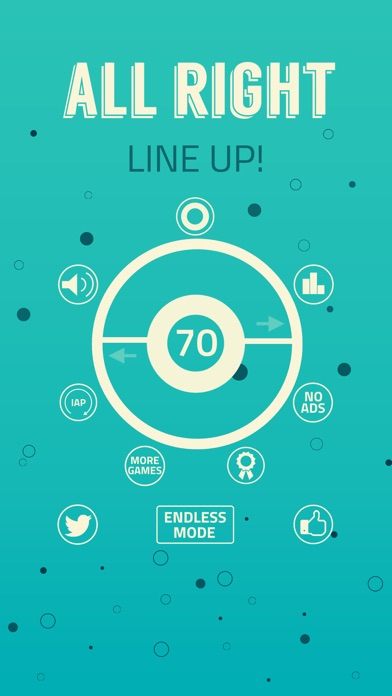 All Right – Line Up! Screenshot