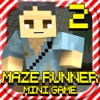MAZE RUNNER 2: Hunter Survival Mini Block Game with Multiplayer