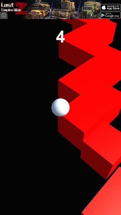 Zig Zag twist ball crush Screenshot