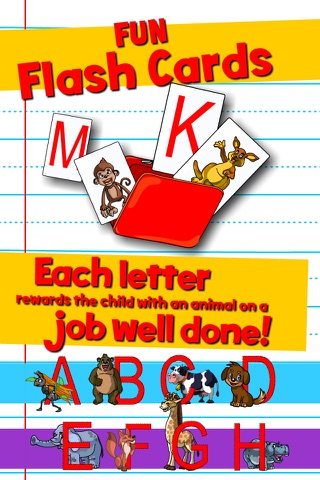 Learn ABC and alphabet thru trace game, flash cards and song. screenshot 3