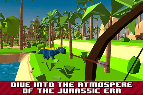 Dino Island Survival Simulator 3D Full screenshot 1