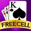 フリーセルソリティアゲーム 最高のカードゲーム 無料の古典的なパズルゲーム