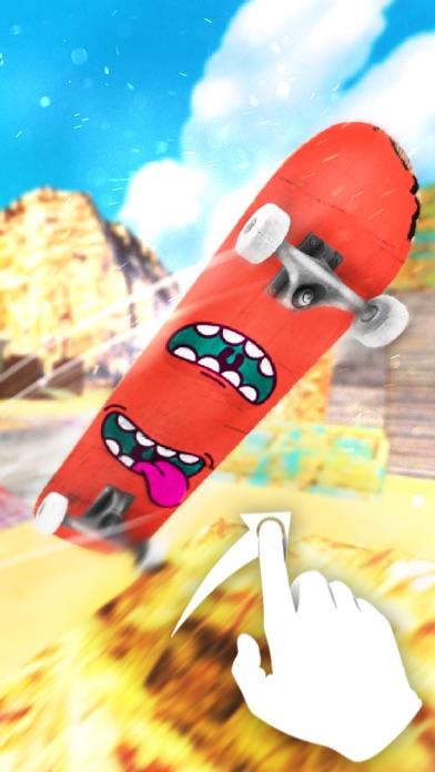 スケートボードの世界 - 無料スケートボードシミュレーションゲームのスクリーンショット1