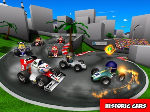 MiniDrivers - The game of mini racing cars для iPad