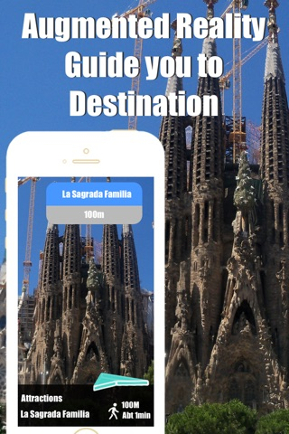 Barcelona travel guide with offline map and España metro transit by BeetleTrip screenshot 4