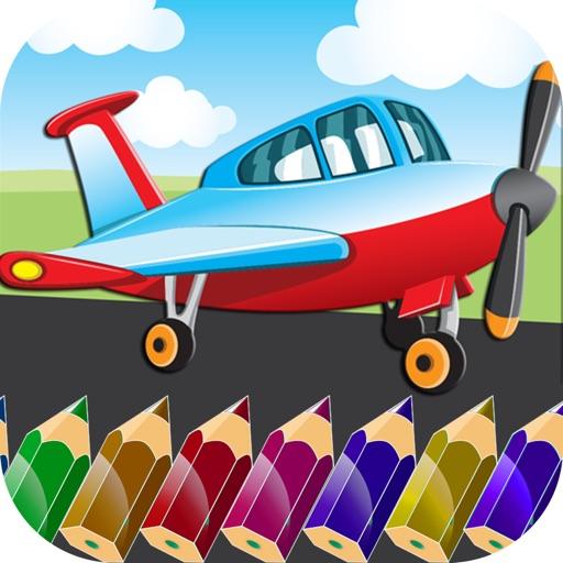 Planes Coloring iOS App