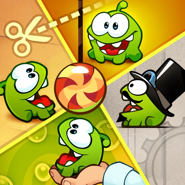 how to play cut the rope time travel
