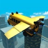 Flying Car Simulator 3D: Stunt Bus