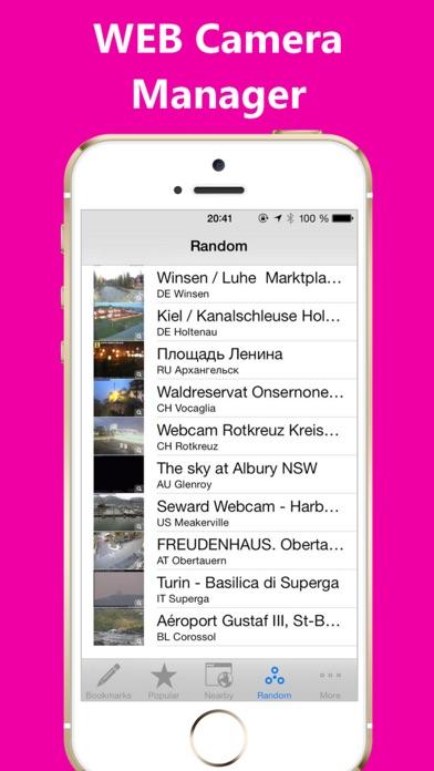 Screenshot of Web Camera Manager4