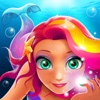 Magic Mermaid Salon - Dress up for mermaid king's royal birthday prom