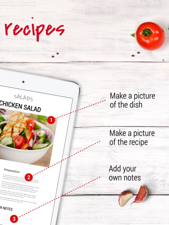 Recipe Binder - Your magazine recipes organized Screenshots