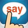 Tap & Say – 12 Sprachen Sprachführer für Reise