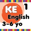 KE-Test: A Test using 750 Kindergarten English Flashcards