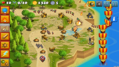 Screenshot von Tower Defense von Fields: Griechenland Tower Defense von Homeworld Runners Sentinel Spiel4