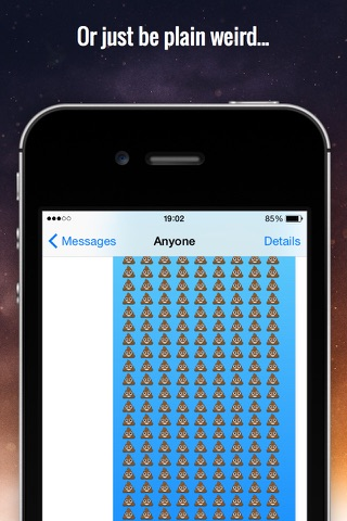 RepeaterBoard - Repeat any message over 1000x Keyboard screenshot 3