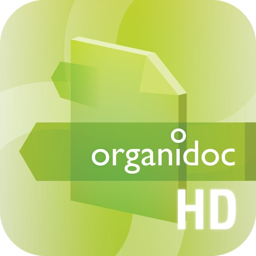 OrganiDoc HD - Your best file manager and PDF viewer on iPad