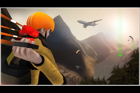 Airplane Skydiving Flight Simulator - Air Flying Stunts screenshot 2