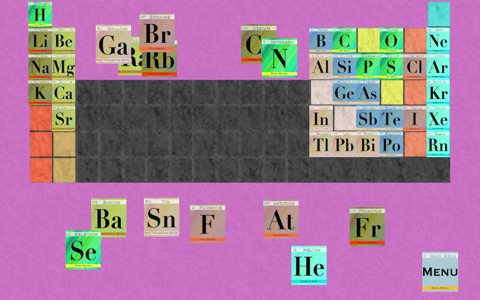 Elements - Periodic Table Order Quiz screenshot 3