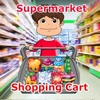 Boy Shopping Cart Kids Supermarket