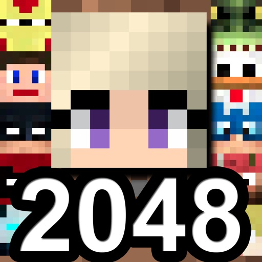 2048 ( Don't tap it ) - the Red Button Edition iOS App