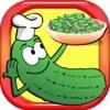Cucumber Salad Cooking