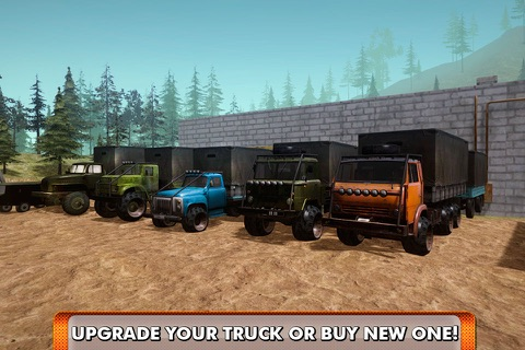 Offroad Truck Driving Simulator 3D Full screenshot 4