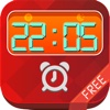 iClock Flat Alarm Clock Wallpapers Free