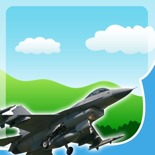 Air Force Jet Games for Little Boys - Fast Puzzles and Sounds iOS App