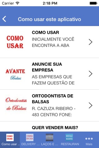 Avante Balsas screenshot 3