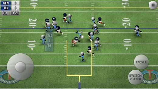 Stickman Football - The Bowl Screenshot