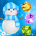 Snowman Games and Christmas Puzzles - Match snow and frozen jewel for this holiday countdown