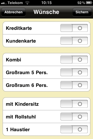 Taxi 33 Frankfurt screenshot 2