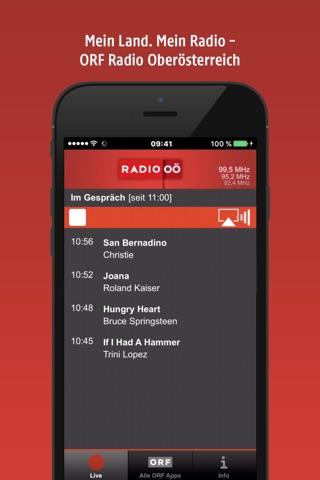 ORF Radio Oberösterreich screenshot 1