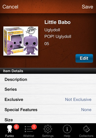 Vinyl Figure Toy Collector screenshot 3