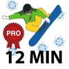 12 Min Pre Snowboard Workout - Premium Version - Best exercises routine to get ready for the slopes season