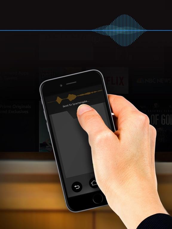 amazon fire tv fernbedienung im app store. Black Bedroom Furniture Sets. Home Design Ideas