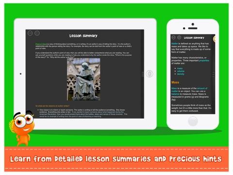Screenshot #4 for iTooch 3rd Grade App | Math, Language Arts and Science