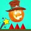 Scary Pumpkin Jump - an amazing halloween running and bouncing game