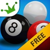 Black 8 Ball - Solids & Stripes Billiards Pool Game