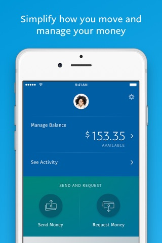 PayPal Cash Wallet: Send Money screenshot 1