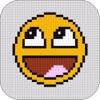 Pixel-Kunst-Editor - Machen Coloring Picture Mit Pixel-Kunst-