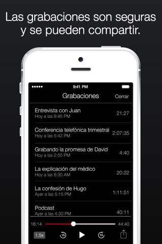 TapeACall Lite: Call Recorder screenshot 4