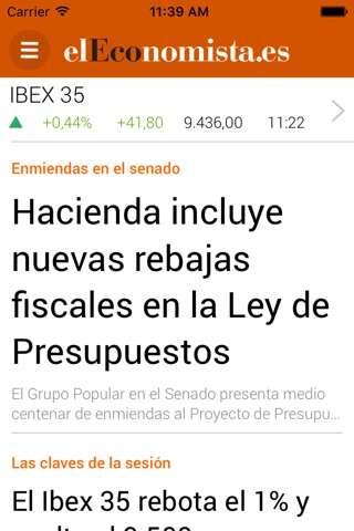 elEconomista.es screenshot 2