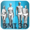 BMI 3D (Body Mass Index calculator with 3D body view)
