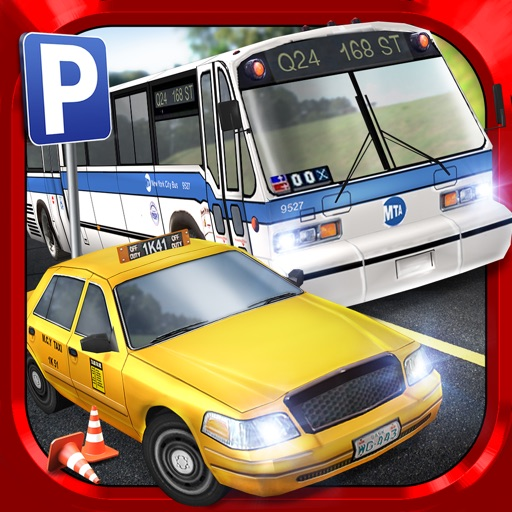 bus driving taxi parking simulator gratuit jeux de voiture de course par play with games ltd. Black Bedroom Furniture Sets. Home Design Ideas