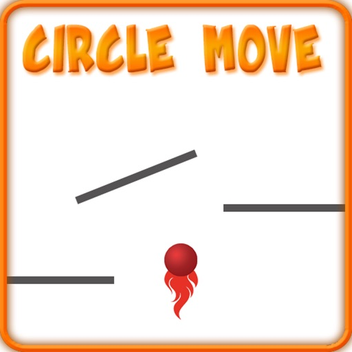 Circle Move Game Icon