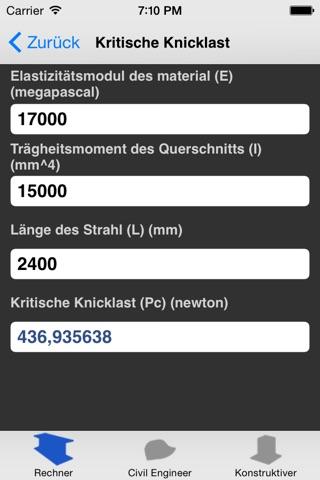 Beam Calculator screenshot 4